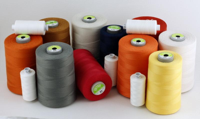 Nähfäden aus Kernpolyester mit hoher Qualität . Sie eignen sich für Damen-, Herren- und Kinderkleidung. Fäden ESTER sind auch für Unter- und Bettwäsche einsetzbar. Je nach der Dicke können diese auch für Jeans und Arbeitskleidung angewendet werden.